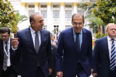 Dışişleri Bakanı Çavuşoğlu, Lavrov İle Operasyon Hakkında Görüştü