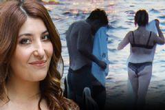 Evli Olan Ünlü Oyuncu İç Çamaşırlarıyla Girdiği Denizde, Sevgilisiyle Dudak Dudağa Yakalandı!