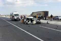 Afyon'da Katliam Gibi Kaza: 5 Ölü