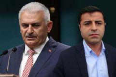 Başbakan Yıldırım'dan Demirtaş'a Sert Sözler!