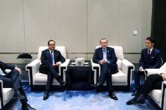 Cumhurbaşkanı Erdoğan Çin'de Liderlerle Bir Araya Geldi