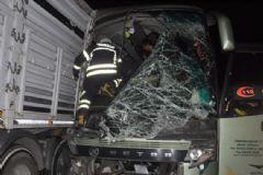 Tekirdağ'da Feci Kaza! 1 Ölü 38 Yaralı