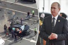 Putin'in Aracı Kaza Yaptı Bu Hale Geldi!