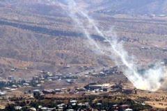 Hakkari'de PKK Hedefleri Obüslerle Vuruldu