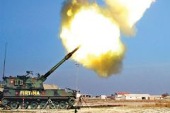 TSK: 12 IŞİD Hedefine 51 Obüs Mermisi Atıldı