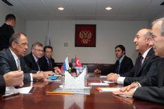 Çavuşoğlu ve Lavrov Ateşkesi Görüştü