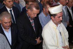 Cumhurbaşkanı Erdoğan, Ziya İlgen'in Annesinin Cenazesine Katıldı