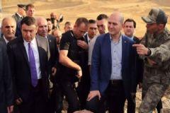 İçişleri Bakanı Süleyman Soylu Saldırı Bölgesini İnceledi