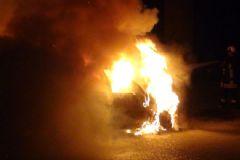 Konya'da Kundaklama: 5 Araç Yandı!