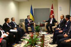 Erdoğan Ukrayna Devlet Başkanı İle Görüştü