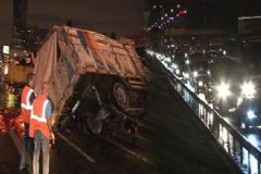 İstanbul'da Trafiği Durduran Kaza