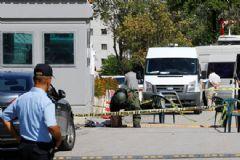 İsrail Büyükelçiliği Önünde Silah Sesi!