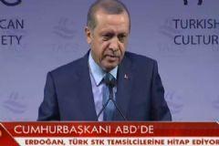 Erdoğan ABD'de Çok Sert Konuştu: Kobane'ye Uçak İndirdiler, Biden'a Sordum, 'Haberim Yok' Dedi