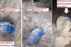 Diyarbakır'da 690 Kilogramlık PKK Tuzağı İmha Edildi!