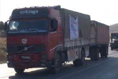 Sınırda Bekleyen Yardım TIR'ları İdlib'e Hareket Etti