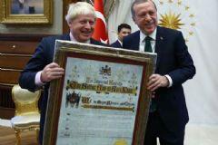 Cumhurbaşkanı Erdoğan İngiltere Dışişleri Bakanı'nı Kabul Etti