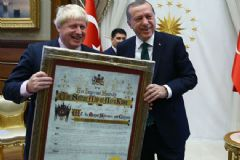 İngiltere Basını Dışişleri Bakanı Johnson'ın Türkiye Ziyaretini Böyle Gördü!