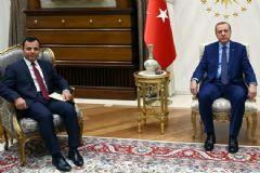 Erdoğan, Anayasa Mahkemesi Başkanı ile Görüştü