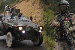 Ordu Sivas Sınır Hattında Büyük PKK Operasyonu