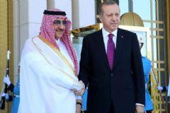 Cumhurbaşkanı Erdoğan Suudi Arabistan Veliaht Prensi'ni Kabul Etti