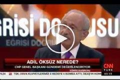 Kılıçdaroğlu'ndan Çarpıcı 'Adil Öksüz' İddiası