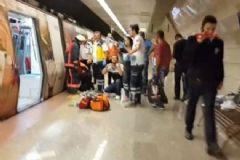 İstanbul'da O İstikamette Metro Seferleri Durdu