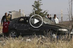 Ankara'da Teröristler Kendini Patlattı! Olay Yerinden İlk Görüntüler