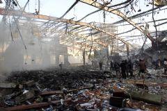 Yemen'de Pazar Yerine Kanlı Saldırı: En Az 140 Ölü