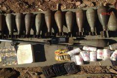 PKK'ya Ait Çok Sayıda Mühimmat Ele Geçirildi!