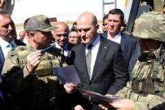 Bakan Soylu Şemdinli'yi Ziyaret Etti