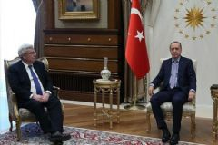 Cumhurbaşkanı Erdoğan Lemierre'i Kabul Etti