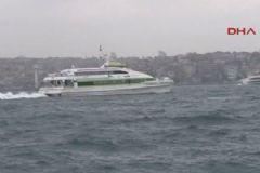 İstanbul'da O Seferler İptal