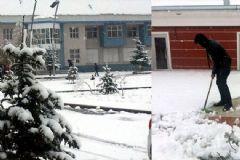 Kars'a Kara Uyandı