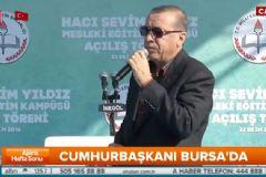 Cumhurbaşkanı Erdoğan'dan Bursa'da Sert Açıklamalar