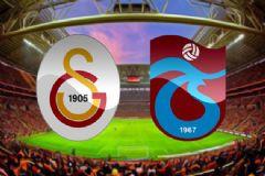 Galatasaray-Trabzonspor Maçının İlk 11'leri Belli Oldu