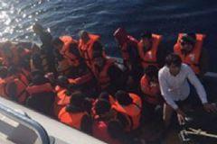Çeşme ve Didem'de Mülteciler Yakalandı