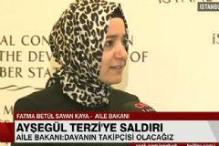 Aile ve Sosyal Politikalar Bakanı Tekmeci Saldırganın Tahliyesi İle İlgili Konuştu