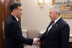 Başbakan Yıldırım, Çin Başbakan Yardımcısı Wang'ı Kabul Etti