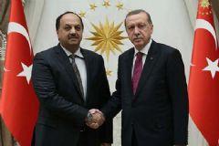 Cumhurbaşkanı Erdoğan,Atiye'yi Kabul Etti