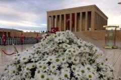 10 Kasım'da Anıtkabir Yoğunluğu
