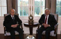 Başbakan'la Görüşme Sonrası Bahçeli'den İlk Açıklama