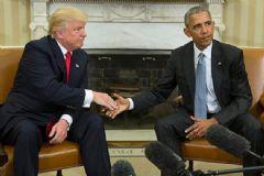 Obama ile Trump Beyaz Saray'da Görüştü