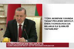 Erdoğan: AB'nin Belarus Yaptırımlarını Kaldırması Son Derece İsabetli