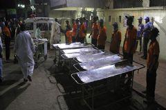 Pakistan'da 43 Kişinin Öldüğü Kanlı Saldırıyı IŞİD Üstlendi