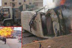Azez'de DEAŞ Saldırısı