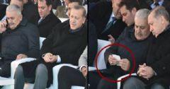 Yıldırım Ve Erdoğan'ın Törende Dikkat Çeken Anları