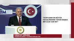 Başbakan Yıldırım İhracat Zirvesi'nde Konuştu
