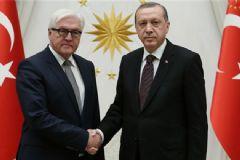 Cumhurbaşkanı Erdoğan Steinmeier'i Kabul Etti