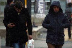 Ankara'ya İlk Kar Yağdı