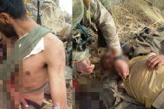 Yaralı Teröriste İlk Müdahale Asker Ve Koruculardan